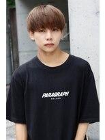 透明感濃いめミルクティーベージュ BTS韓国マッシュ