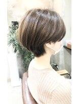 エトネ ヘアーサロン 仙台駅前(eTONe hair salon)ひし形ショート20代30代40代