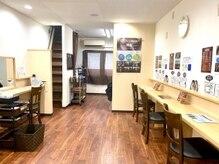 スマートカラーキレイ 豊中店(スマートカラーKirei)の雰囲気(手洗いシャンプー♪体の負担が少ないバックシャンプー台あり☆)