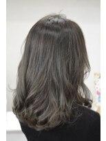 ヘアーデザイン キャンパス(hair design Campus)【イルミナ艶カラー☆】優しさグレージュ♪