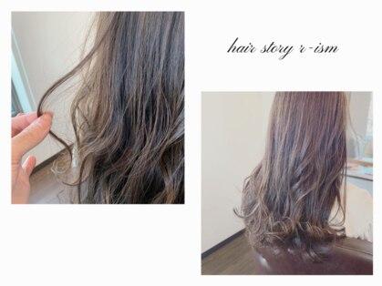 ヘアストーリー リズム(hair story r ism)の写真