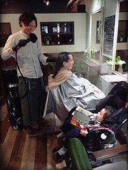 ココアパートメント(Koco apartment)の写真/《キッズスペースあり》赤ちゃんや小さなお子様と一緒のご来店も大歓迎!