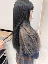 ラノバイヘアー(Lano by HAIR)【lano by hair 銀座】メルティカラーインナーカラー