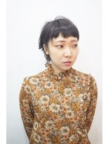 エトネ ヘアーサロン 仙台駅前(eTONe hair salon)【eTONe】シルバーアッシュのショートヘア