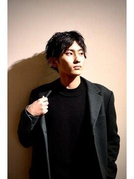 メンズヘアースパイス ユメサキ(Men's Hair SPICE -yumesaki-)ウェーブセンターパート