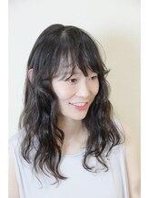 ヘアーミックス ニット(hair mix nitt)黒髪パーマ