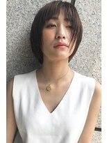 ヘアーアンドメイク フォルス(HAIR&MAKE FORS)【FORS】西田ゆか 軽い質感♪ボブショート