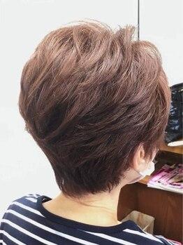 """ナカジマ美容室の写真/自然な色味で白髪染めも楽しむ♪お悩みを解消しながら""""なりたい""""を叶えるカラーに満足度◎"""
