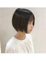 【SHUN】広瀬すず風ショートボブ#黒髪#暗髪#クラシカルワンレン