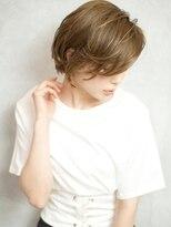 ベックヘアサロン 広尾店(BEKKU hair salon)ウェットスタイルで魅せるクールでカッコ良いショートボブ☆