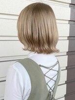 ルッツ(Lutz. hair design)キャラメルベージュ