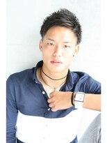 フェス カットアンドカラーズ(FESS cut&colors)【2ブロック×ショート】束間スタイル『FESS 鶴丸』