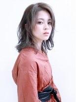バッテリー ヘアアンドメイク 塚本店(Battery hair&make)おしゃれオーラが漂うカールボブ