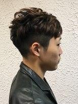 ヘアーメイクサロンアカイシ(hairmake salon AKAISHI)美シルエット『ロングポイント』ベリーショート