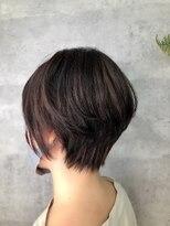グランジュテ ヘアアンドスパ 新検見川(GRAND JETE Hair&Spa)立体感ショート♪ [岩井麻由美]
