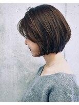 ジーナハーバー(JEANA HARBOR)【JEANAHARBOR、後藤】乾かすだけでOK!まとまるボブ!!