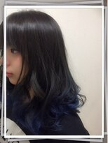 ポッシュ 門前仲町(HAIR&MAKE POSH) Grayish Blue
