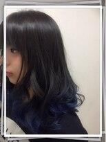 ポッシュ 門前仲町(HAIR&MAKE POSH)Grayish Blue
