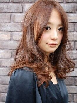 エイム(AIM)の写真/本命★クリープパーマ!!数多くの経験をもとに髪質,ダメージを見極め簡単スタイリング&ダメージレス♪