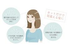 SR 美髪の研究所の雰囲気(ハネる広がる毛髪には、専用のカット技術が必要です◎)