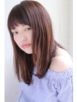 ガーデン オモテサンドウ(GARDEN omotesando)【GARDEN伊藤愛子】大人かわいいセミウェットナチュラルミディ