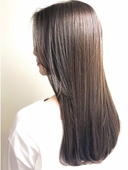 エアー ヨコハマ(air YOKOHAMA)の写真/【GRANDOPEN】芯から輝く素髪で印象年齢を若く。髪を本気で考えたトリートメントで内部まで潤う◎