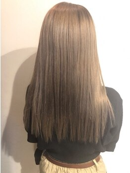 ジィップセカンド(ZIP second)の写真/縮毛矯正なのに、あてたその時から巻き髪OK!まっすぐ過ぎない自然な仕上がりの美しいスタイルへ…♪