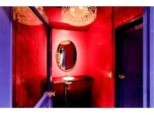 サジュー(Sajou)の雰囲気(女性に嬉しい可愛すぎるパウダールーム♪♪)