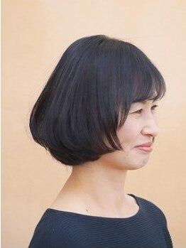 デフィ(defi)の写真/【前髪カット+カラー¥4840】通いやすいリーズナブルな値段♪他にも大人女性に嬉しいクーポン多数ご用意☆