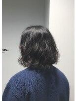 トーン 上大岡(tone.)ミディアムメンズパーマ 【tone. 窪田 黎太郎】