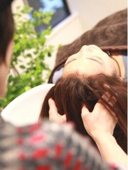 アンナヘアー(Anna hair)の写真/リフトアップに特化した、約40分の頭皮マッサージ。熟練スパニストが提案する貴女だけの至福の癒し…。