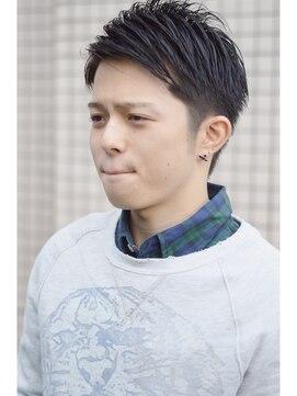 マティス 表参道(matiz)最新!!NEOツーブロック×七三ショート ニュアンスパーマ