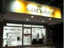 美容室ゲバラ 南郷7丁目店(GUEVARA)の雰囲気(わかりやすい外観・駐車場完備)