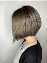 ソース ヘアアトリエ 梅田(Source hair atelier)【SOURCE】前下がりグラデーションボブ