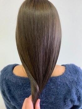 ラボバイシェノン 茶屋町店(LAB.by CHAINON)の写真/話題の髪質改善「TOKIOトリートメント」「酸性ストレート」など髪質改善メニューが豊富なサロン!