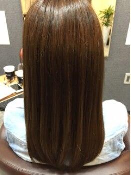 """ヘアーアートデュー(hair art dieu)の写真/スタイルだけでなく""""ヘアケア""""にこだわった《hair art dieu》♪思わず触りたくなる美髪を手に入れて☆"""