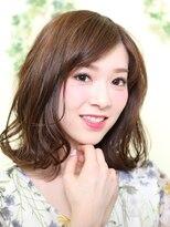 オーガニックサロン フェイス 梅田店(organic salon face)弾むカール☆外ハネくびれミディ