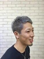メンズ レオ 天六店(men's LEO)【イメチェン】刈上げベリショでアッシュグレー