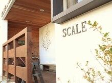 スケールヘアーデザイン(SCALE HAIR DESIGN)の雰囲気(シンプルかつ落ち着く、気軽にご来店できる空間です♪)