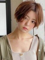 アグ ヘアー ドレス 喜久田店(Agu hair dress)《Agu hair》大人かわいいマニッシュショート ショートボブ