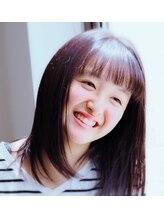 ヘアースペース オブジェ(Hair Space Objet)シースルーバング☆ストレートツヤ小顔ミディアムボブ