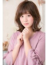 ハル(hair salon haru by little)フリンジミディ