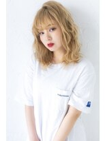 ログヘアー 大塚北口店(L.O.G hair)ハイトーンウェーブ【大塚/池袋/新大塚】