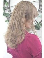 ヘアーサロン エール 原宿(hair salon ailes)(ailes原宿)style378 デザインカラー☆スイートベージュ