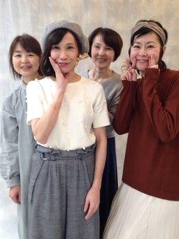 ヘアーズ アトリエ ユキ(hair's atelier YUKI)の写真/女性同士だから分かりあえる☆女性目線の愛され&可愛いナチュラルなスタイル創りが人気の秘訣♪