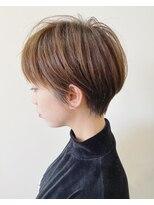 エトワール(Etoile HAIR SALON)ハンサムショート/ホワイトベージュ