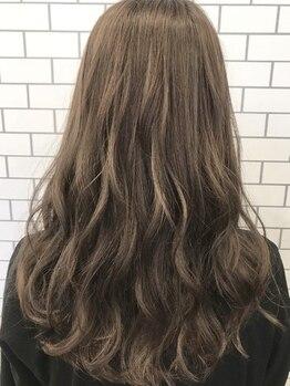 カルム ヘアー エコル(Calm hair ekolu)の写真/【松永】ダメージレス×似合わせでうる艶スタイルに*カラーチェンジなら《Calm hair》へお任せ♪
