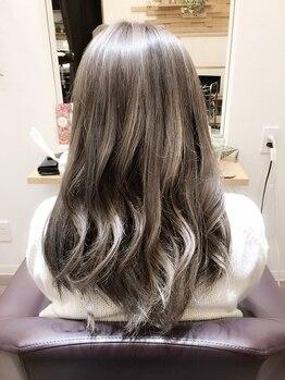 グロー(hair make grow)の写真/「オシャレはしたいけど…ダメージも気になる!!」という方におすすめ♪カラーやパーマのモチもUP!!