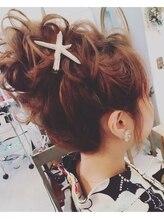 ヘアメイクアンドセットサロン リッコ(Hair make&set salon Ricco)梅田セットサロンRiccoカジュアルおだんごヘアアレンジ
