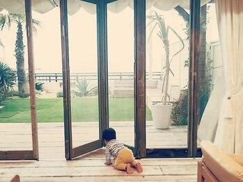 サンドアンドローズ(sand rose)の写真/お子様と一緒に海を眺めながら、いつもと違ったスローなひと時を♪ご家族のセカンドハウスにもなるかも?!